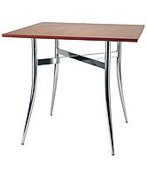 Опора стол для кафе Трейси хром