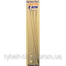 Поводок спиннинговый скрутка (струна) AFW