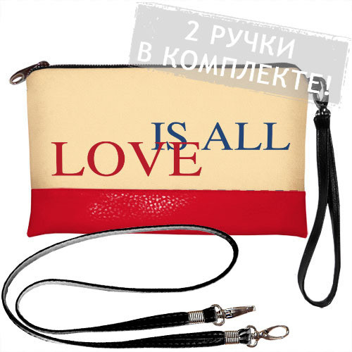 Клатч Love is all