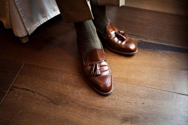 Мужские лоферы, туфли без шнурка