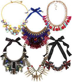 Ожерелье и колье