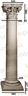Колонна из гипса ка-94  (энтазис)