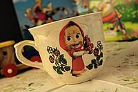 Чашка детская Маша и ягоды