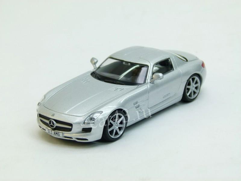 Суперкары №14 Mercedes SLS AMG   Модель коллекционная 1:43   DeAgostini