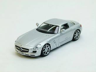 Суперкары №14 Mercedes SLS AMG | Модель коллекционная 1:43 | DeAgostini