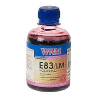 Чернила WWM E83 для Epson, 200г, Light Magenta, с повышенной светостойкостью