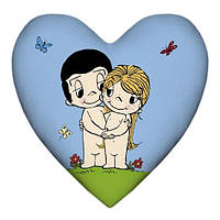 Подушка сердце Love is  15L048  OPO-4107