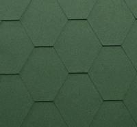 Битумная черепица Katepal RUFLEX SUPER Classic KL Зеленый