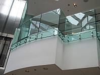 Стеклянные ограждения для балконов, фото 1