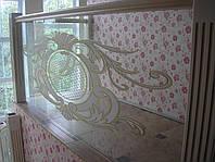 Цельностеклянные ограждения для лестницы, фото 1