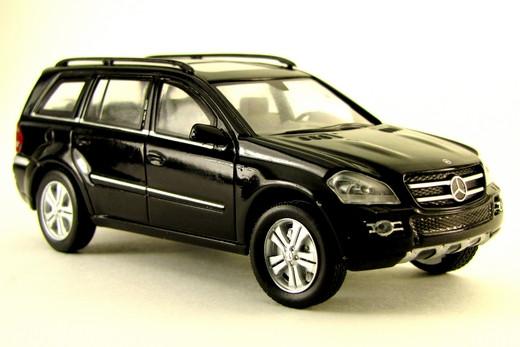 Суперкары №57 Mercedes GL500 | Модель коллекционная 1:43 | DeAgostini