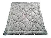 Одеяло полуторное облегченное, силиконовое Орнамент, бязь хлопок 100% (155х215 см.)