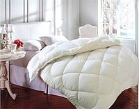 Одеяло полуторное, силиконовое из микрофибры, молочное Облако (140х205 см.)