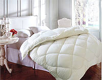 Одеяло двуспальное, силиконовое из микрофибры, молочное Облако (175х215 см.)