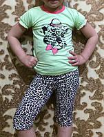 """Детская пижама для девочки трикотажная """"Taro""""  размер 104,128, фото 1"""