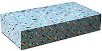 Упаковка для эклеров и др. изделий, 170х300х60 мм, Дизайн 10