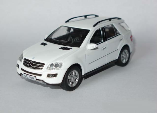 Суперкары №68 Mercedes-Benz ML500 | Модель коллекционная 1:43 | DeAgostini