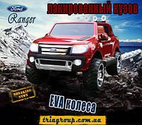 Детский электромобиль Ford Ranger колеса EVA коричневые сиденья