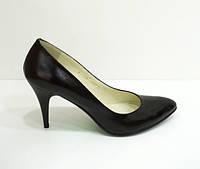 Туфли черные Камея 13-24