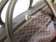 Дорожная сумка саквояж 0122 коричневый, 40 литров, фото 5