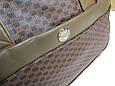 Дорожная сумка саквояж 0122 коричневый, 40 литров, фото 6