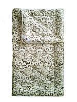 Шерстяное одеяло полуторное, бязь хлопок 100%, Орнамент4 (155х215 см.)