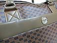 Дорожная сумка саквояж 0122 коричневый, 40 литров, фото 7