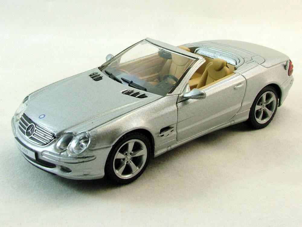 Суперкары №76 Mercedes-Benz SL 600 | Модель коллекционная 1:43 | DeAgostini