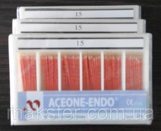 Штифты гуттаперчивые Aceone-Endo 04 №15, фото 2