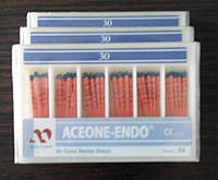 Штифты гуттаперчивые Aceone-Endo 04 №30