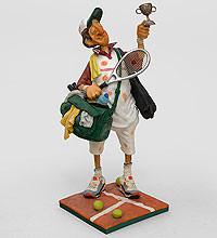 Коллекционная статуэтка Теннисист Forchino, ручная работа FO 85511