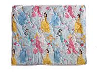 Детское одеяло силиконовое, антиаллергенное Принцессы