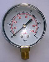 """Манометр 10 бар G1/4"""" вертикальний"""