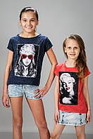 Детские летние футболки для девочки