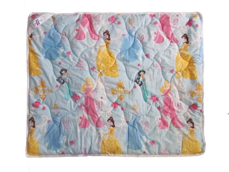 Детское одеяло шерстяное Принцессы