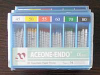 Штифты бумажные Aceone-Endo 0.4 № 45-80