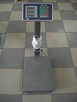 Весы электронные 100кг (железная нога и площадка)
