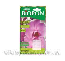 Удобрение в палочках BIOPON для орхидей, 10 шт