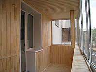 Внутренняя обшивка балкона, отделка балкона внутри