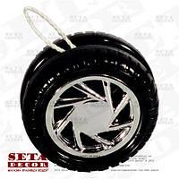 Игрушка Йо-Йо (Yo-Yo) автомобильное колесо.