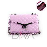 Клатч стеганый Chanel Boy 923L.pink
