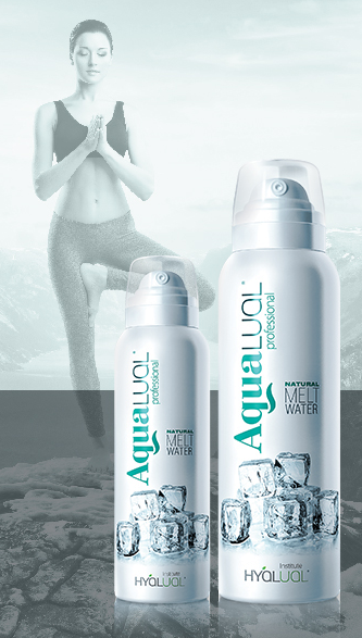Спрей на основе талой воды Hyalual «AquaLual professional» Institute Hyalual Switzerland