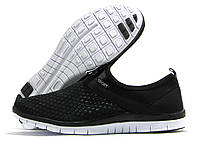 Кроссовки женские Sport без шнурков черные