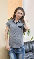 Женская молодежная рубашка горох Турция