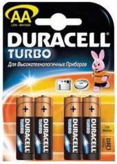 Батарейка AA Duracell LR6 Turbo MN1500 * 4 шт
