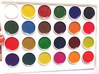 Краски акварель медовая 24цв.