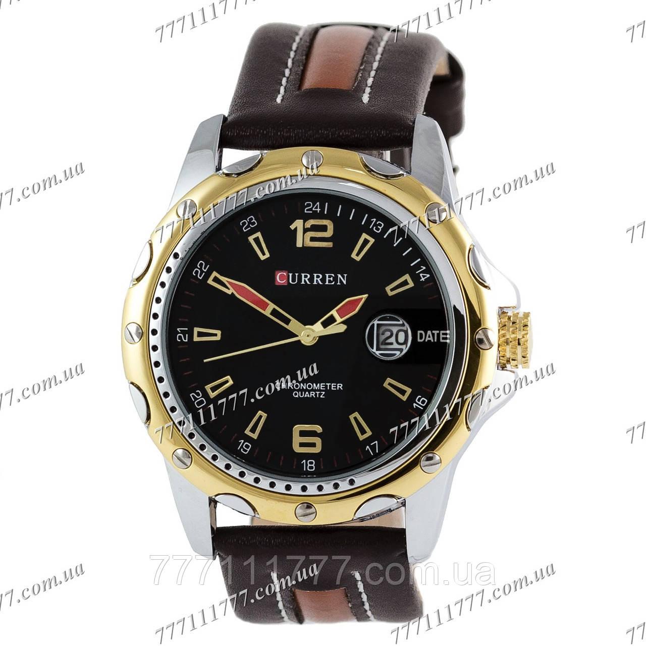 73a6c139c7ef Часы мужские наручные Curren Line 8104 Gold-Black  продажа, цена в ...