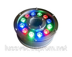 Светильник светодиодный подводный для фонтана SeeLux 12W RGB
