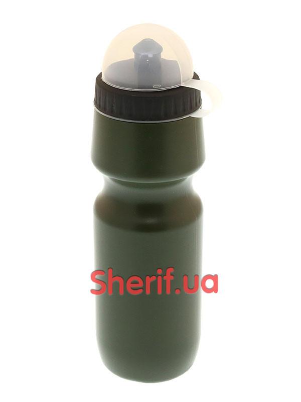 Фляга с клапаном 0,7 л MIL-TEC ONE-HAND  14519601 Olive - Военторг Шериф в Днепре