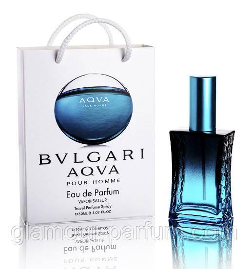 Bvlgari Aqua pour Homme (Булгари Аква Пур Хоум) в подарочной упаковке 50 мл (реплика) - Glamour-Parfum - элитная парфюмерия, декоративная и органическая косметика в Харькове